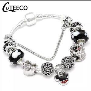 Jewelry - Brand New 18cm Mickey Mouse Charm Bracelet